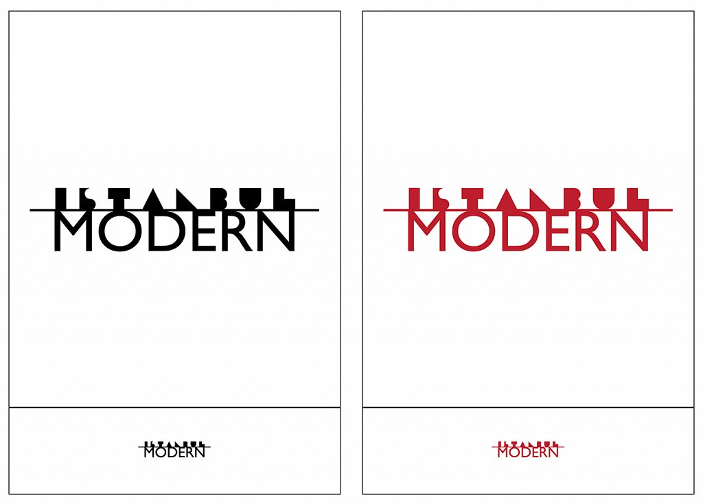 İstanbul Modern logo redesign (Academic Project)
